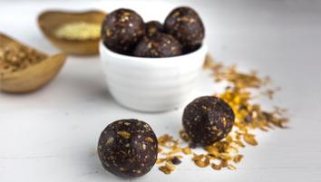 Energy Balls con Muesli al Cioccolato